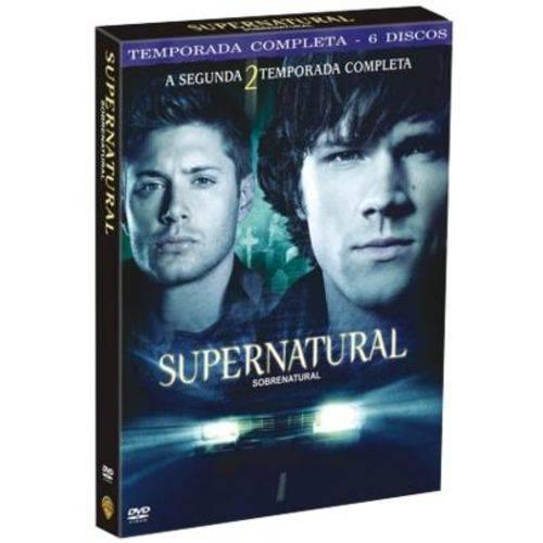 DVD Supernatural - Sobrenatural - 2ª Temporada - 6 Discos