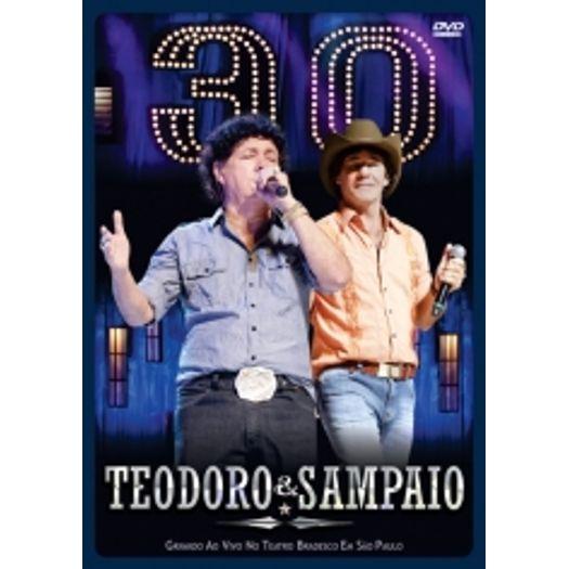 DVD Teodoro & Sampaio - 30 Anos - 2011