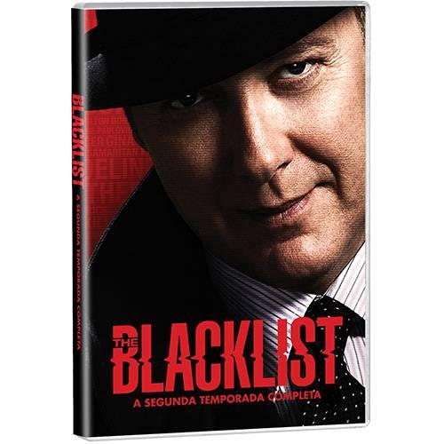DVD - The Blacklist - a Segunda Temporada Completa (5 Discos)