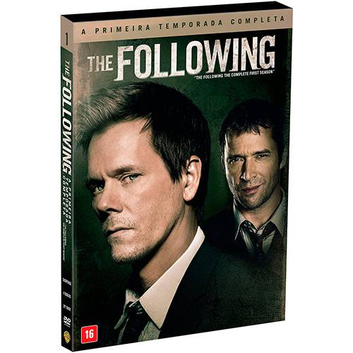 DVD - The Following - 1ª Temporada (4 Discos)