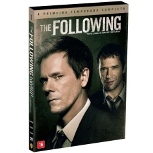 DVD The Following - Primeira Temporada (4 DVDs)