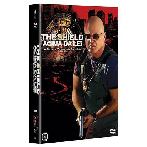 DVD - The Shield - Acima da Lei - a 3° Temporada Completa