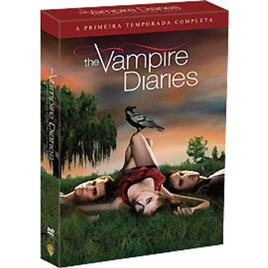 DVD The Vampire Diaries - Diários do Vampiro - Primeira Temporada (5 DVDs)
