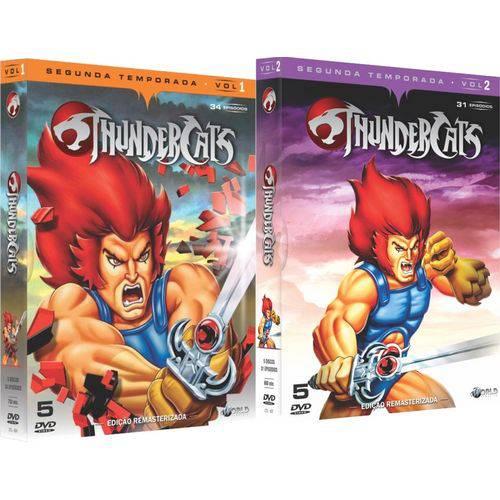 Dvd Thundercats - Segunda Temporada Completa 10 Discos