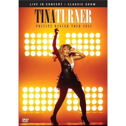 DVD Tina Turner Live In Concert: Private Dancer Tour 1985