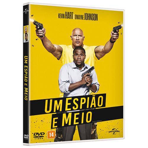Dvd - um Espião e Meio