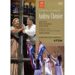 DVD Umberto Giordano - Andrea Chénier (Importado)