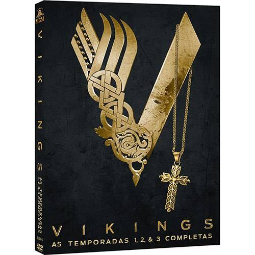 DVD - Vikings: 1ª, 2ª e 3ª Temporadas (9 Discos)