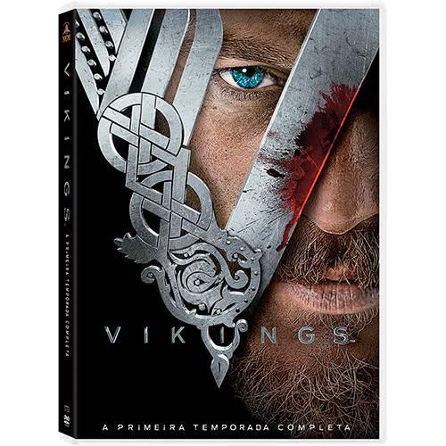 DVD - Vikings: 1ª Temporada (3 Discos)
