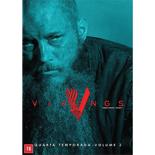DVD - Vikings 4º Temporada (3 Discos)