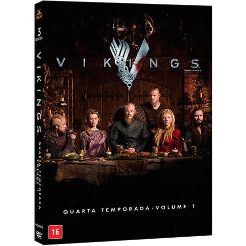 Dvd - Vikings: Quarta Temporada - Volume 1