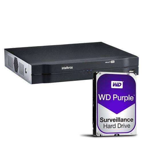 Dvr 16ch Multi-HD Mhdx 1016 C/HD 1tb Intelbras
