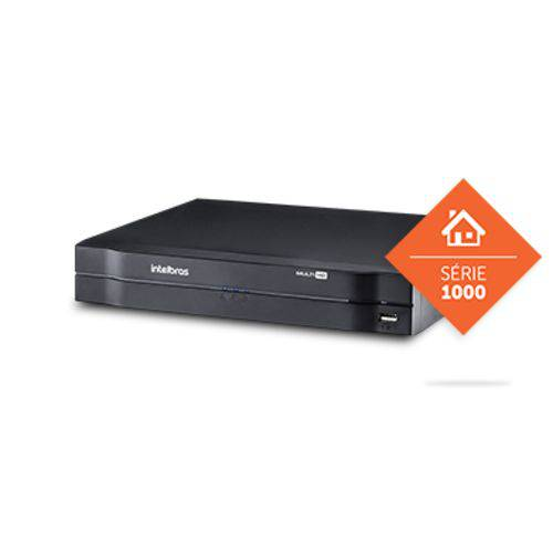 Gravador Digital Dvr Mhdx 1004 Intelbras Multi Hd 4 Canais