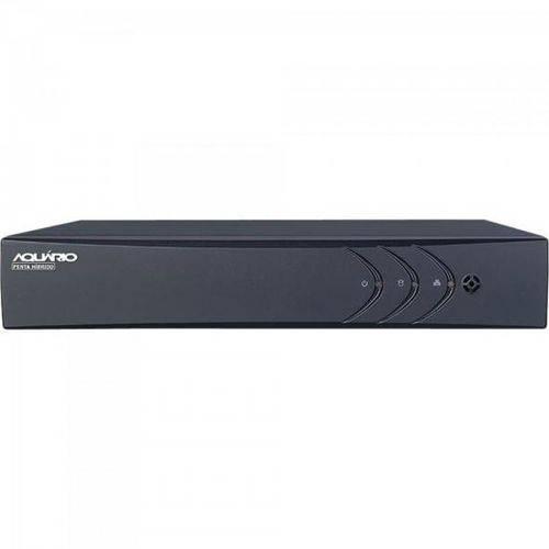 Dvr Hibrido (5 em 1) 4 Canais 1 Ip Full HD 1080p Dvr-1004 Aquario