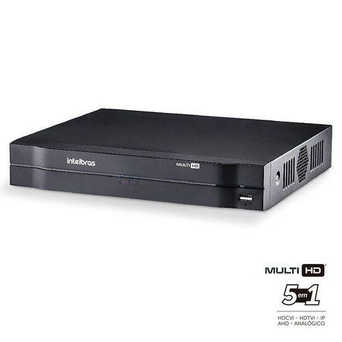 Dvr Intelbras 04 Canais Multi HD 1080n Mhdx 1004