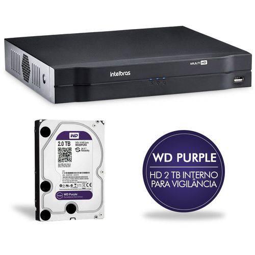 Dvr Intelbras Multi HD 16 Ch C/ HD 2tb Mhdx 1016 4580364