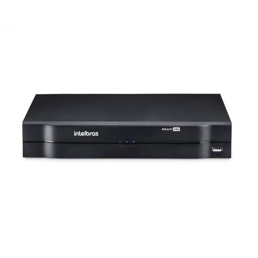 DVR Stand Alone Gravador Digital Tríbrido HDCVI 4 Canais 1004 Intelbras