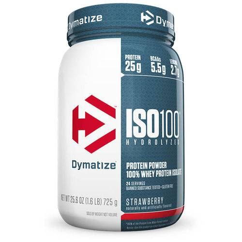 Dymatize Iso 100 Whey Protein 1.6lb (726g)
