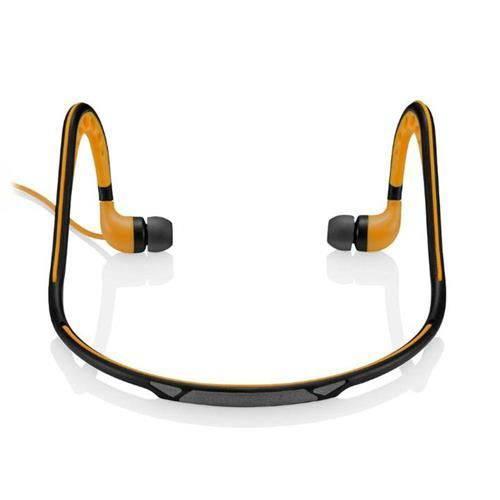 Earphone Sport Stereo Audio - Ph203 - Laranja - Pulse