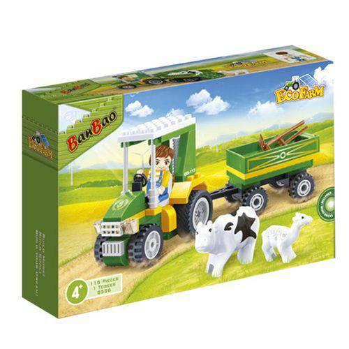 Eco Fazenda Trator com Carreta - 8586 - Banbao