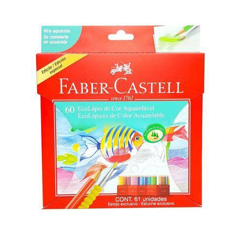 Ecolápis de Cor 60 Cores Aquarelável Faber-castell 120260