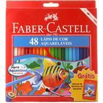 Ecolapis de Cor Aquarelavel 48 Cores Fsc - Faber-Castell