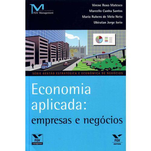 Economia Aplicada: Empresas e Negocios