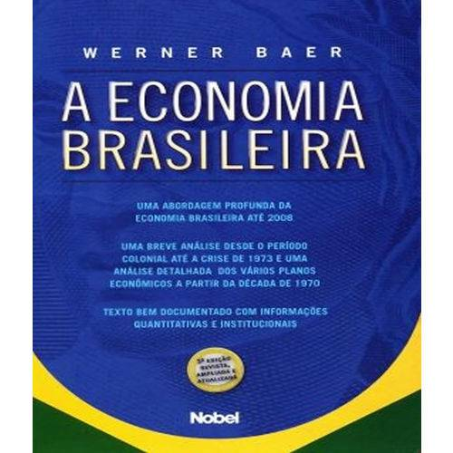 Economia Brasileira, a