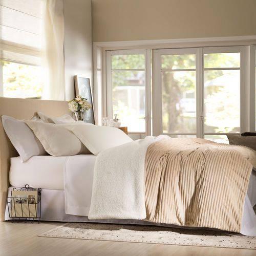 Edredom Casal Boreal Home Design Corttex 1,80x2,20m Bege