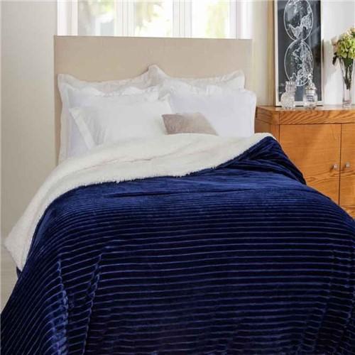 Edredom King Boreal Marinho - 100% Poliéster - Home Design - Corttex