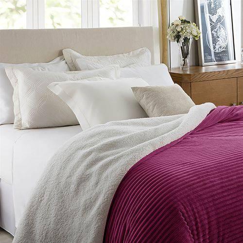 Edredom King Corttex Boreal Home Design Cereja