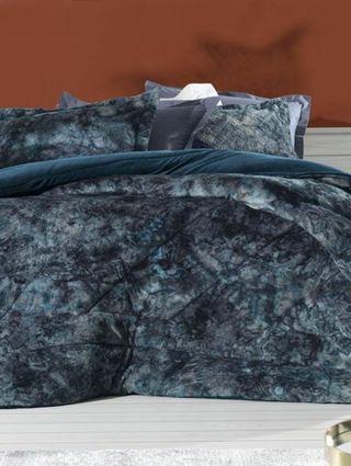 Edredom Casal Altenburg Blend Fashion Azul