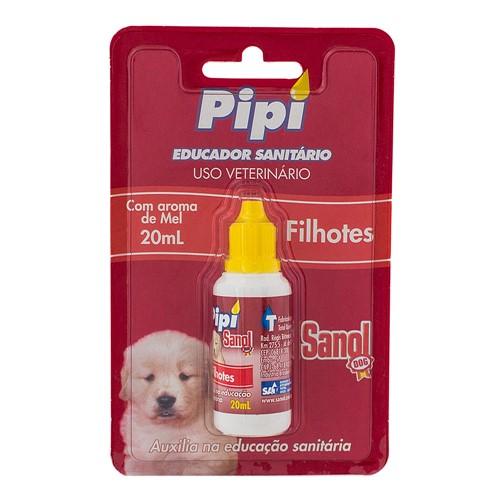 Educador Sanitário Pipi Sanol Dog para Filhotes Uso Veterinário com 20ml
