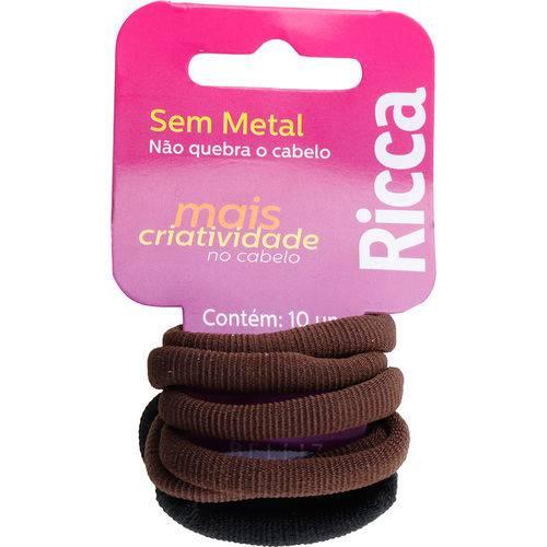 Elástico Sem Metal Ricca 903 - 10 Unidades