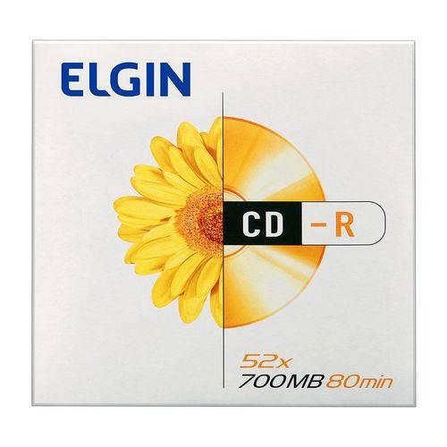 Elgin Midia Cd-r 700mb / 80 Min / 52x Envelope