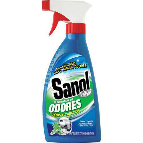 Eliminador de Odores Desagradáveis (mofo, Suor, Chulé, Fumaça, Etc) Sanol A7 330ml