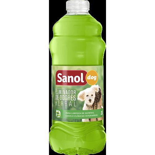 Eliminador de Odores Sanol Dog Herbal para Ambientes 2L