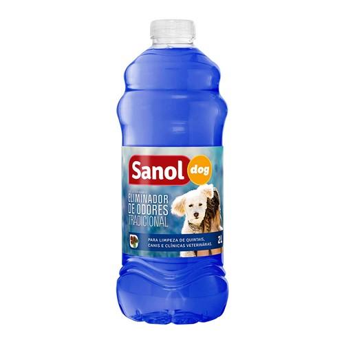Eliminador de Odores Sanol Dog 2 Litros
