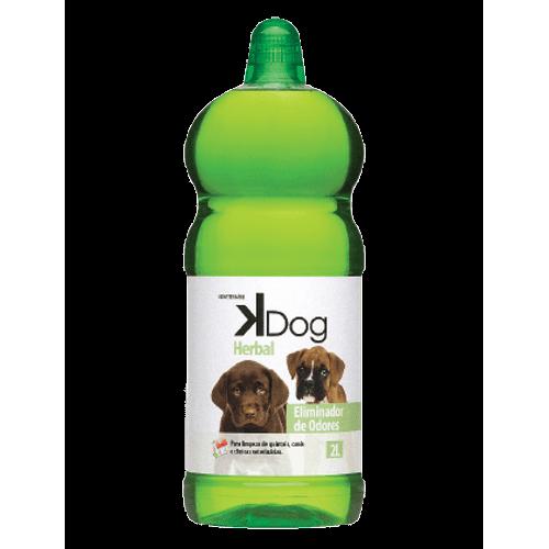 Eliminador de Odores Sanol KDog Herbal para Ambientes 2L