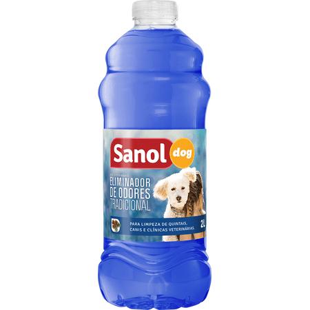 Eliminador Odores Dog 2L Tradicional - Sanol Sanol