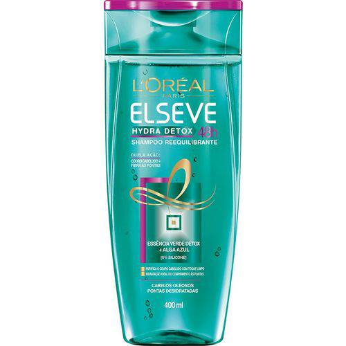 Elseve Hydra-Detox Anti-Oleosidade Shampoo 400Ml