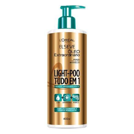 Elseve Light-Poo Óleo Extraordinário Creme de Limpeza Inteligente 400ml