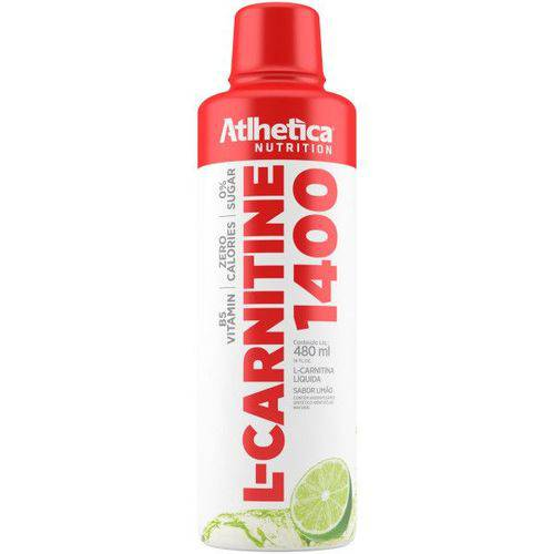 Emagrecedor L- Carnitine 1400 480ml - Atlhetica