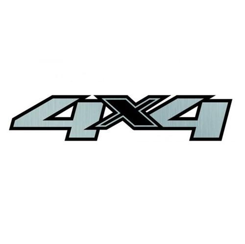 Emblema 4x4 da Lateral Caçamba 25798301 S10