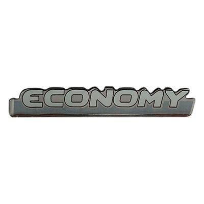 Emblema Adesivo Economy Linha Fiat Uno Palio Siena Resinado