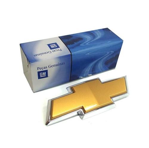 Emblema Adesivo Gravata Dourada Dianteiro da Grade 94703770 S10 /blazer