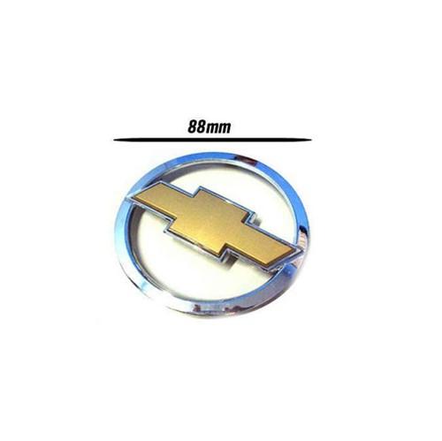 Emblema Aro Cromado com Gravata Dourada da Tampa Traseira Celta X3343846