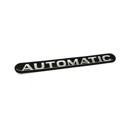 Emblema Automatic da Tampa Traseira 93330026 Astra /vectra /zafir