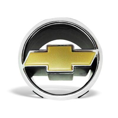 Emblema Chevrolet da Grade do Radiador Celta 2000 a 2005 Gravata Dourada Novo