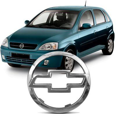 Emblema da Grade Dianteira Corsa 2002 a 2007 Montana 2004 a 2007